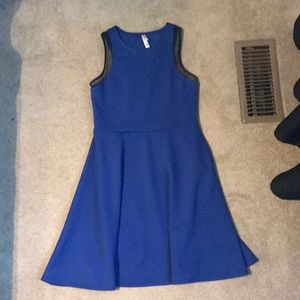 Blue xhilaration dress, size small